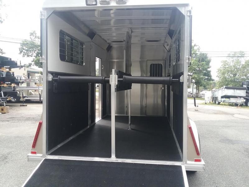 2021 Kingston Trailers Inc. Brunswick 2h gn Horse Trailer