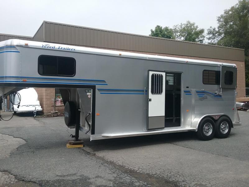 2020 Kingston Trailers Inc. Brunswick 2h gn Horse Trailer