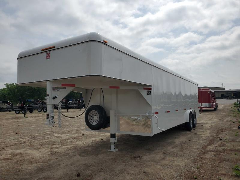 2021 W-W Trailer WW-24X7.10CARGOHAULER Enclosed Cargo Trailer
