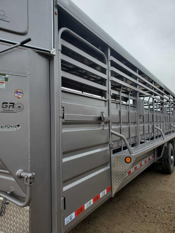 2022 GR Trailers STH6824W14LNRGS Livestock Trailer