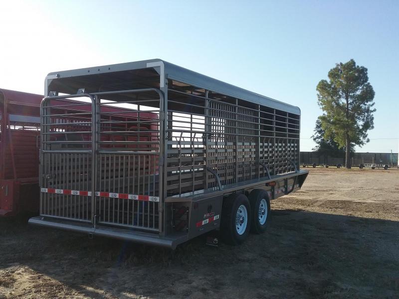 2021 GR Trailers STH6820W14LNR Livestock Trailer