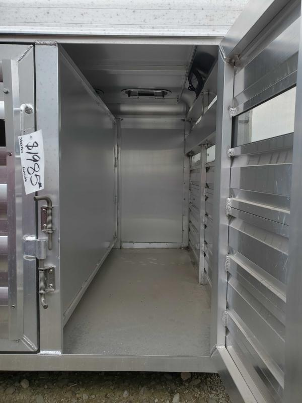 2020 Exiss Trailers Exiss 5'6 Stock Box Truck Boxes (Livestock and Dog)