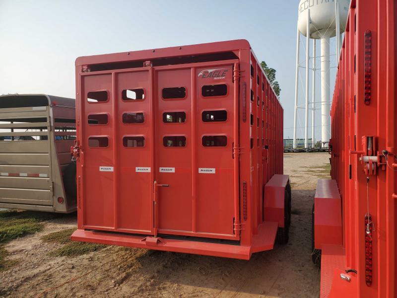 2022 Maxxim Industries MAX6'8x20TandemAxle Livestock Trailer