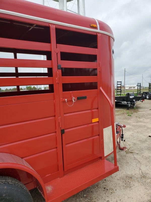2021 W-W Trailer WW-14x5AllAround Livestock Trailer