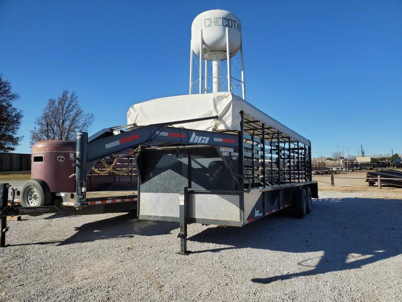 2019 BCI Trailers USEDTRAILERINVENTORY Livestock Trailer