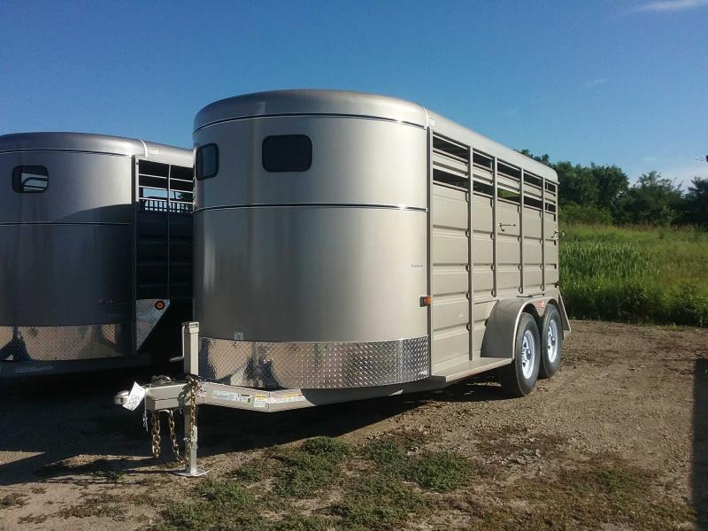 2020 GR Trailers ST6816W10LR Livestock Trailer
