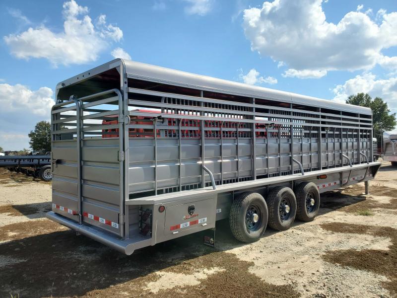 2021 GR Trailers STH6828W20LNRGS Livestock Trailer
