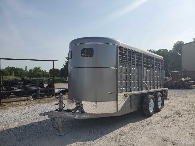 2021 GR Trailers BFST6016W10LR Livestock Trailer