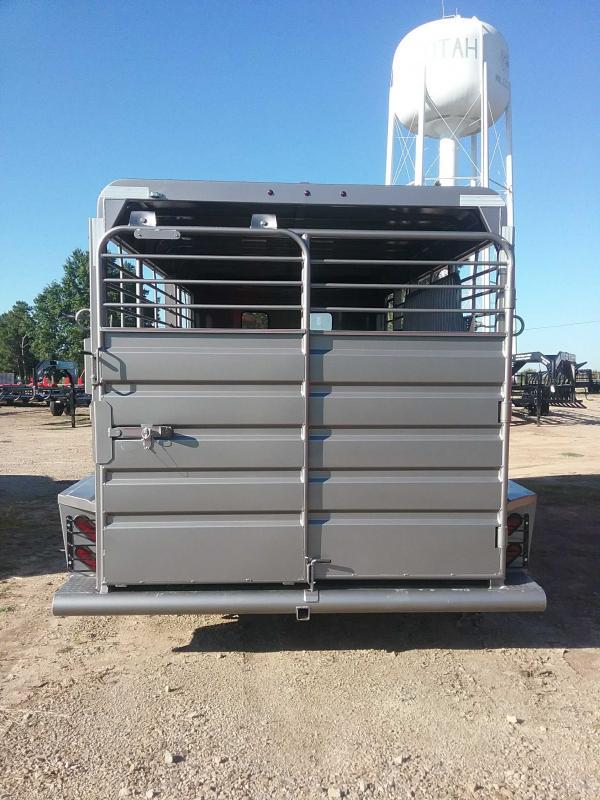 2020 GR Trailers BFST6816W10LRCS Livestock Trailer