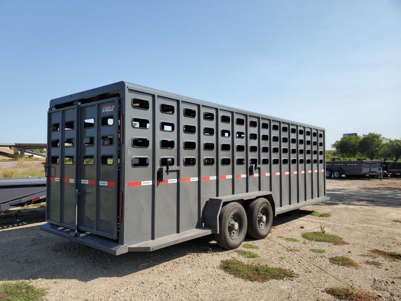 2022 Maxxim Industries Max6'8x24TandemAxle Livestock Trailer