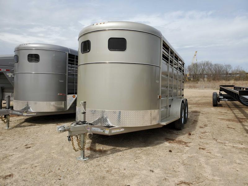 2021 GR Trailers ST6816W10LR Livestock Trailer