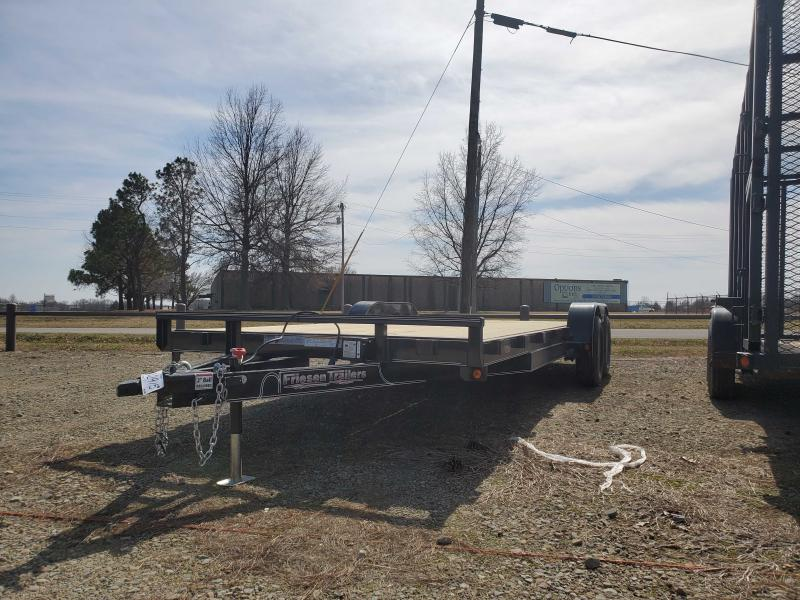 2021 Friesen Trailers CHX78320 Equipment Trailer