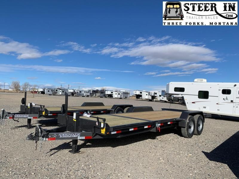 2021 Titan 22' (16+6) Equipment Trailer