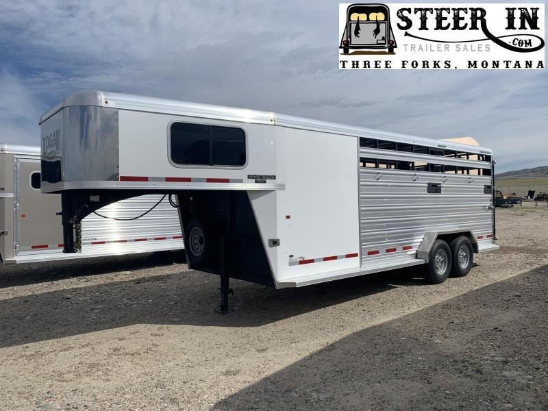 2020 Logan 20' Stock/Combo Trailer