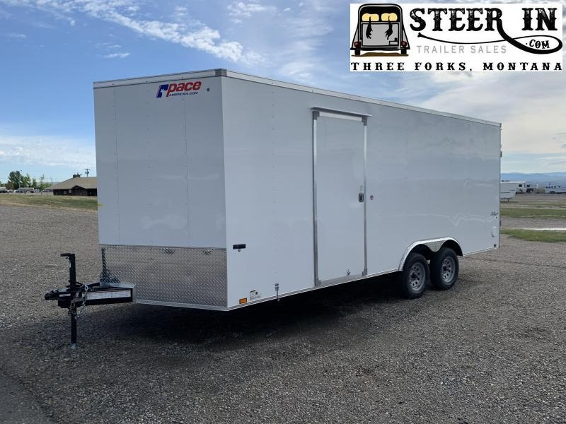 2020 Pace American 8.5x20 Enclosed Cargo Trailer