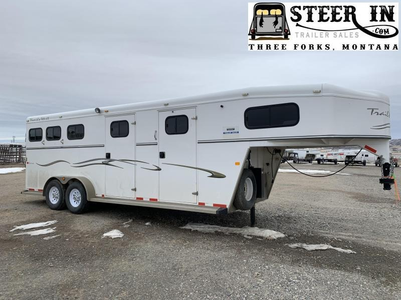 2008 Trails West 3H SIERRA Horse Trailer