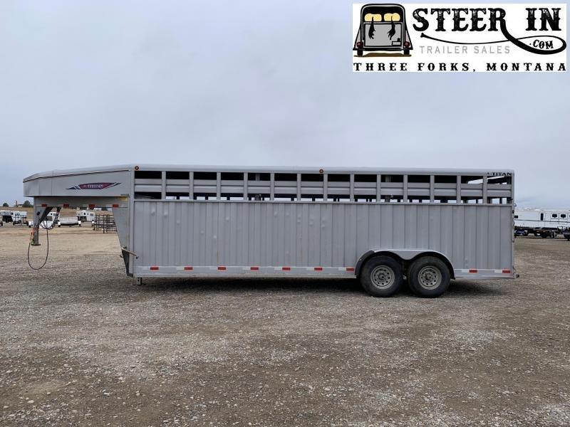 2013 Titan 24'  RANCHER Livestock Trailer