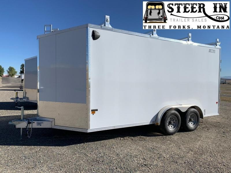 2020 EZ Hauler 7.5x16'  Enclosed Cargo Trailer