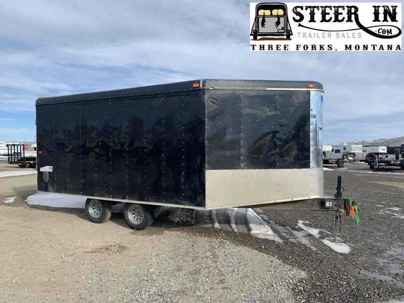 2004 Interstate 18'6 Enclosed Snowmobile Trailer
