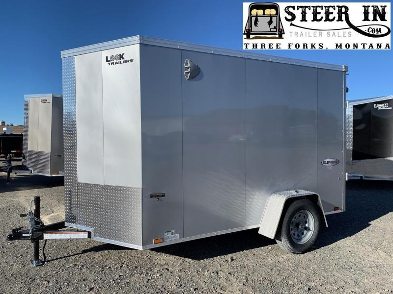 2021 Look 6X10' Element SE Enclosed Cargo Trailer