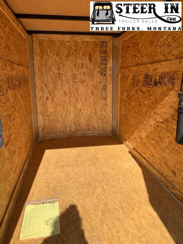 2021 Look 4x6' Enclosed Cargo Trailer