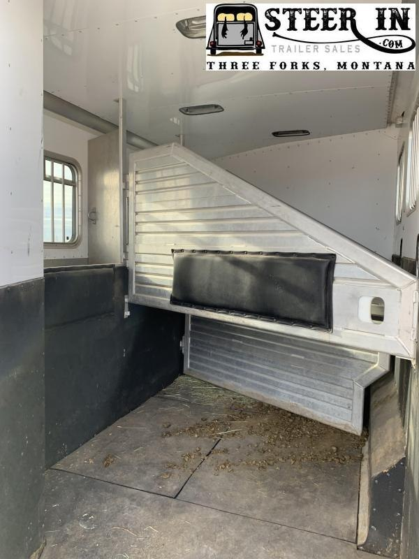 2002 Featherlite 3H - 15' LQ Horse Trailer