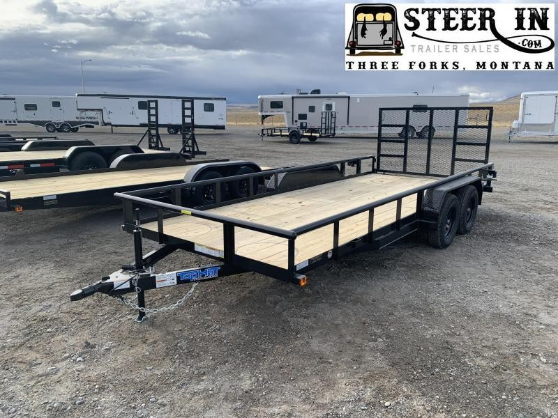 "2021 Top Hat 18x83"" XLP Utility Trailer"