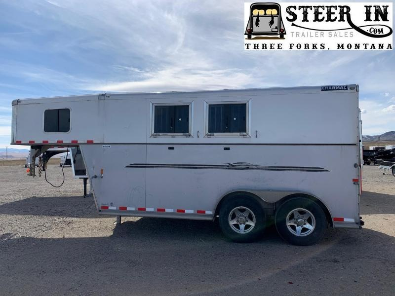 2016 Charmac 2H GN Outlaw Horse Trailer