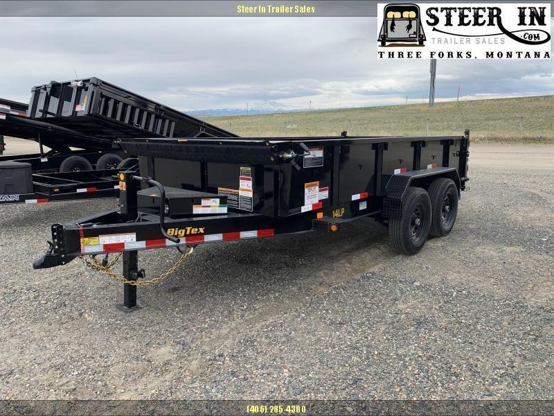 2021 Big Tex 14LP Low Profile 14' Dump Trailer
