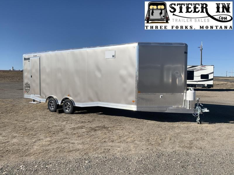 2021 Mission 8.5X24' All Sport Elevation Snowmobile Trailer