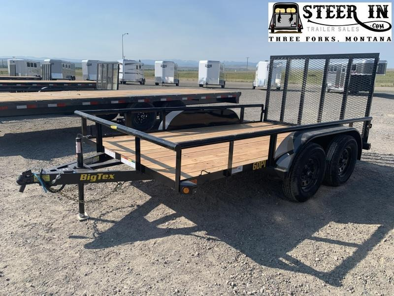 2021 Big Tex 60PI 12' Utility Trailer