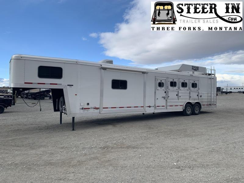 2020 Logan Coach 4H Limited Horse Trailer