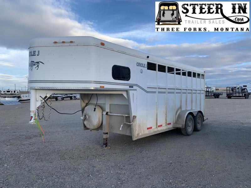 1994 Circle J Trailers STOCK/COMBO Horse Trailer