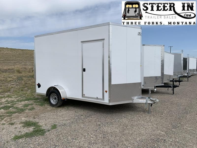 2020 EZ Hauler 7x12' Enclosed Cargo Trailer