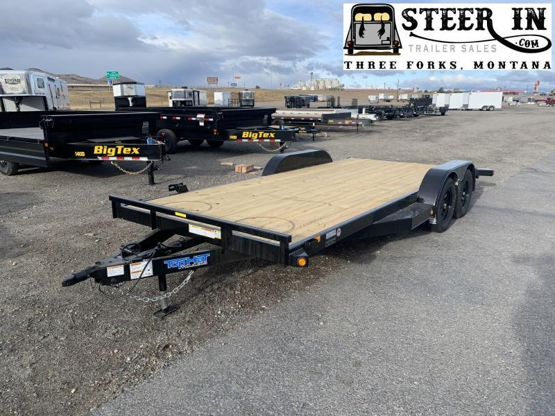 "2021 Top Hat Trailers 18X83"" DCH Car / Racing Trailer"