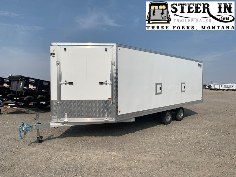 2020 Mission MES101X22 6 5 Snowmobile Trailer