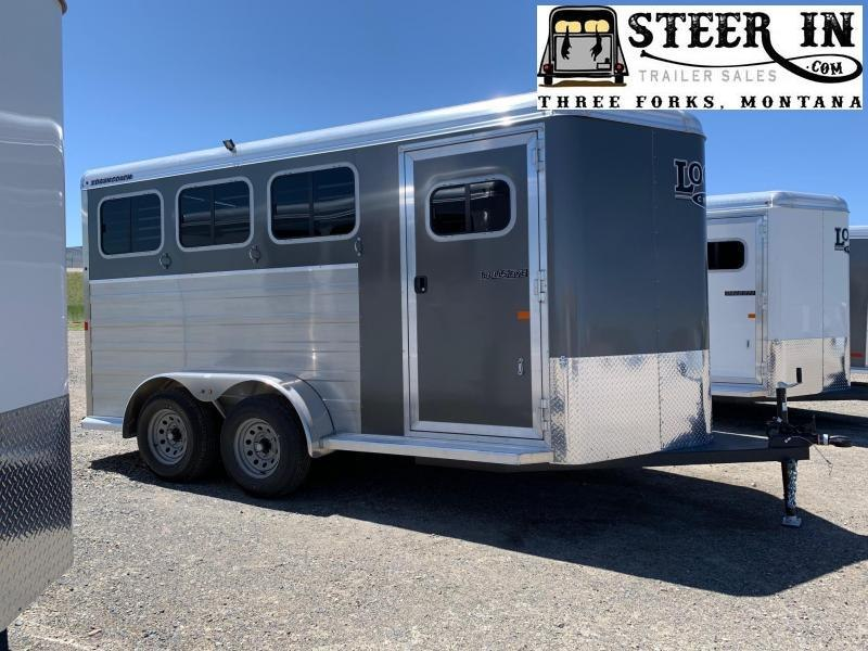 2022 Logan BULLSEYE 3H BP Horse Trailer