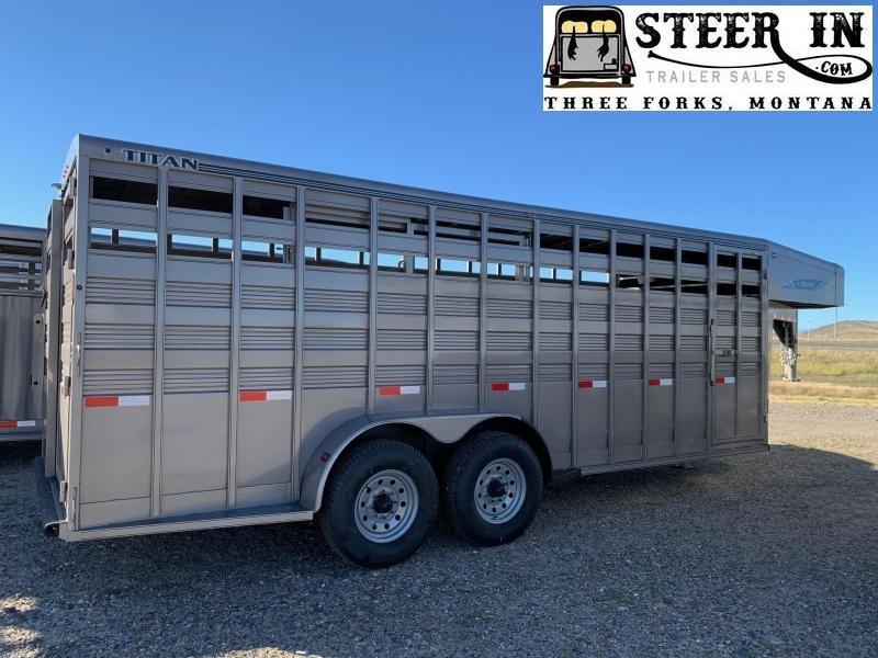 2021 Titan 20' Standard Livestock Trailer