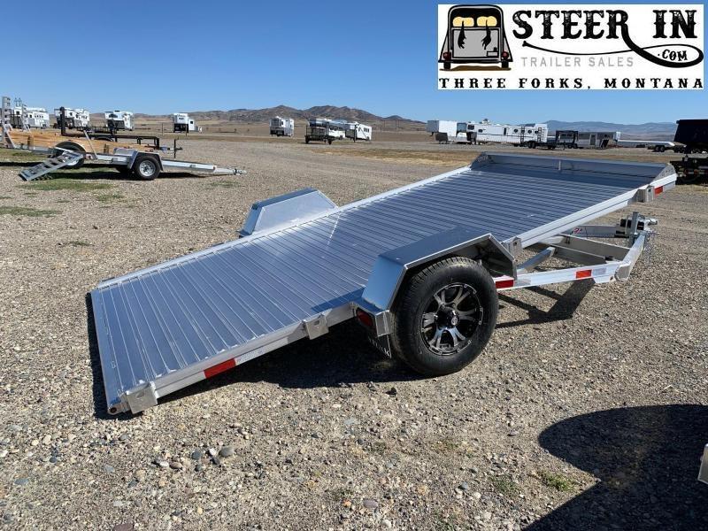 2021 Titan 13' Aluminum Tilt Utility Trailer
