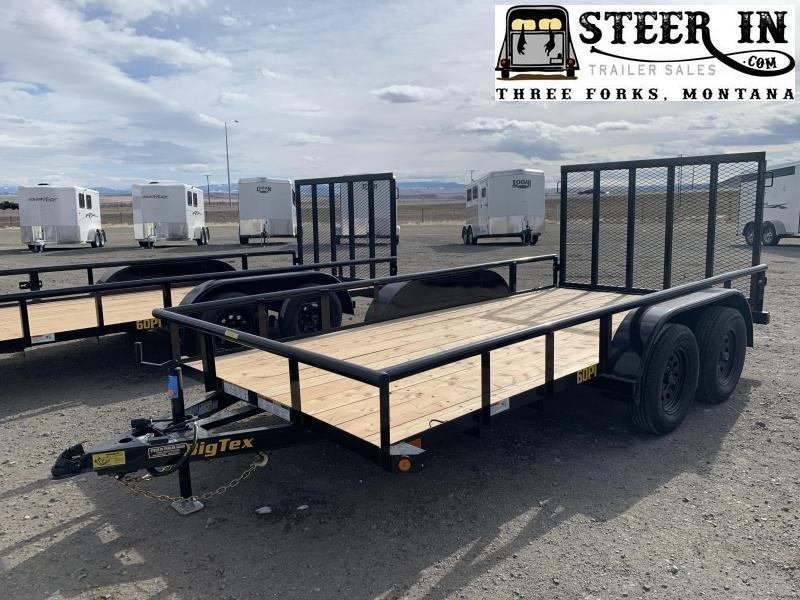 2021 Big Tex  60PI 14' Tandem Axle