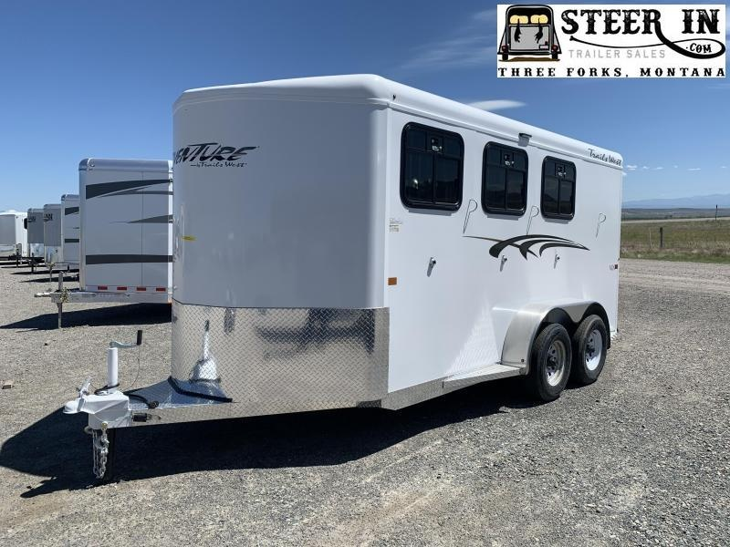 2022 Trails West Adventure MX II 3 Horse