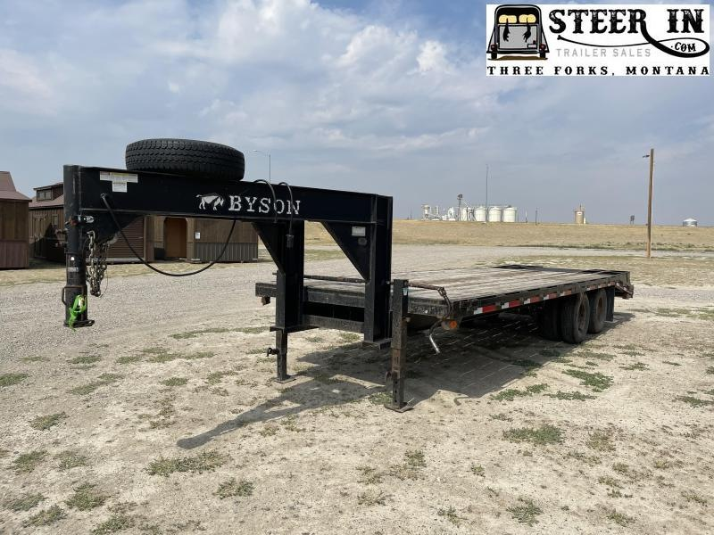2001 Byson 25' Flatbed (20+5)