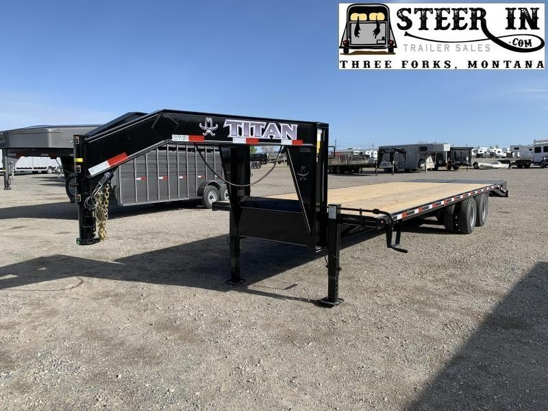 2020 Titan 30' (24+6) Flatbed Trailer