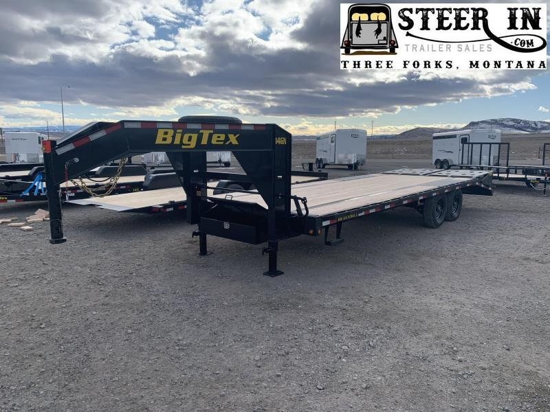 2021 Big Tex 25' (20+5) 14GN Flatbed