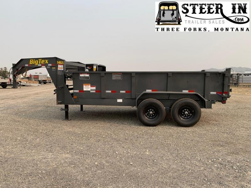 2020 Big Tex Trailers 14GX-14' Dump Trailer