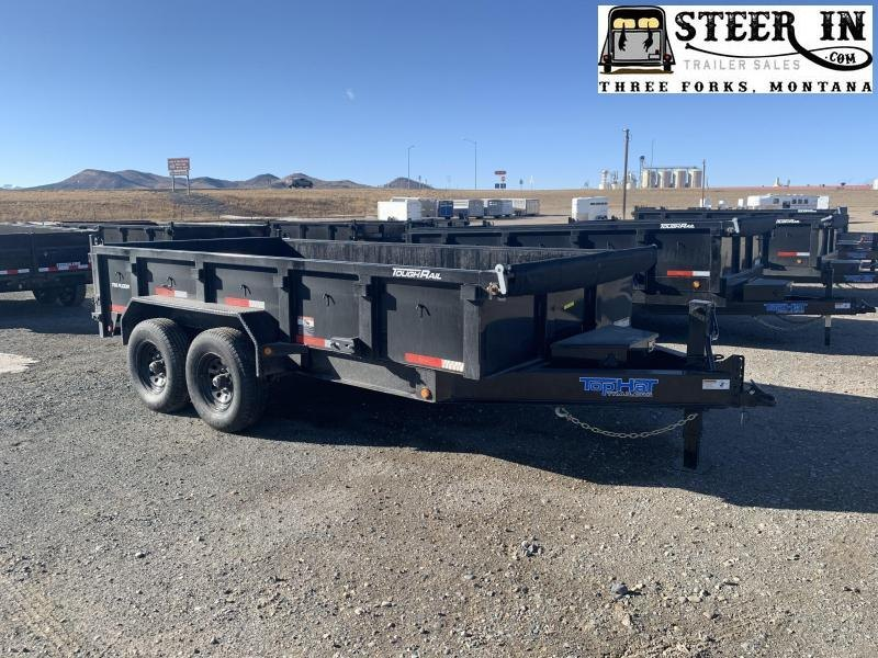 2021 Top Hat 7X14'  Low Profile DPX140 Dump Trailer