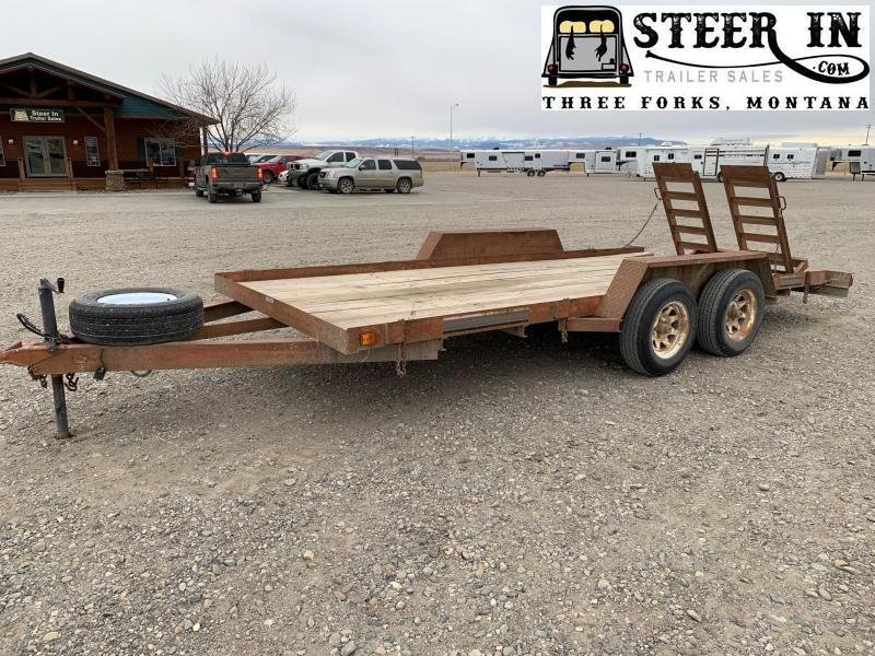 2009 Homemade16' Utility Trailer