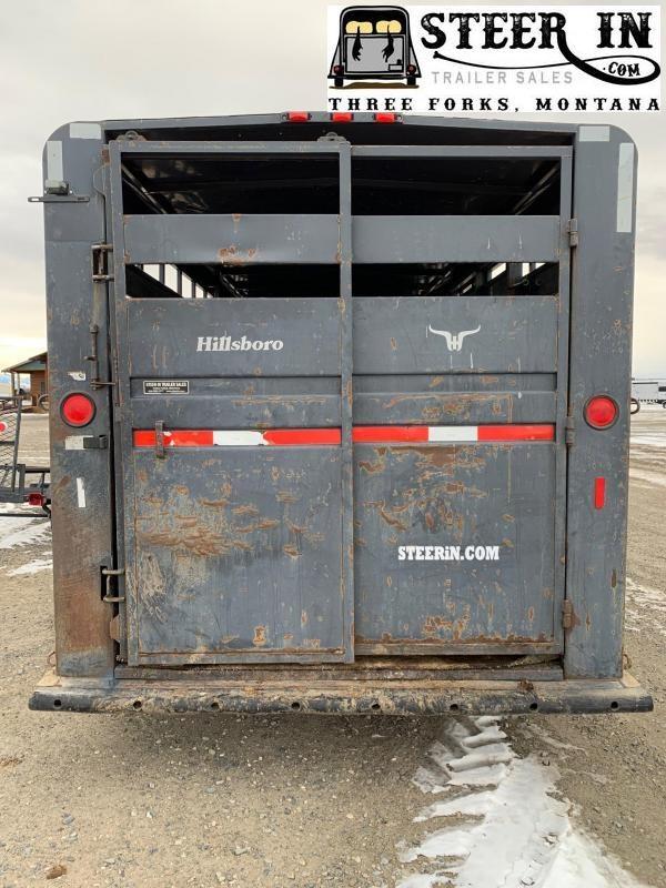 2001 Hillsboro 20' Livestock Trailer