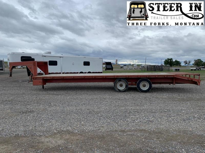 2003 Wilray 29' Flatbed Trailer