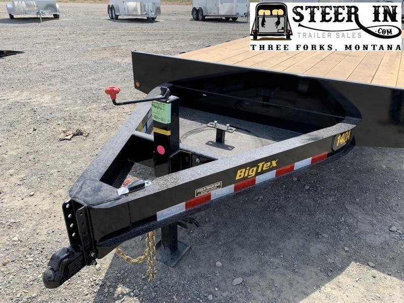 2020 Big Tex 14OA 20' Equipment Trailer